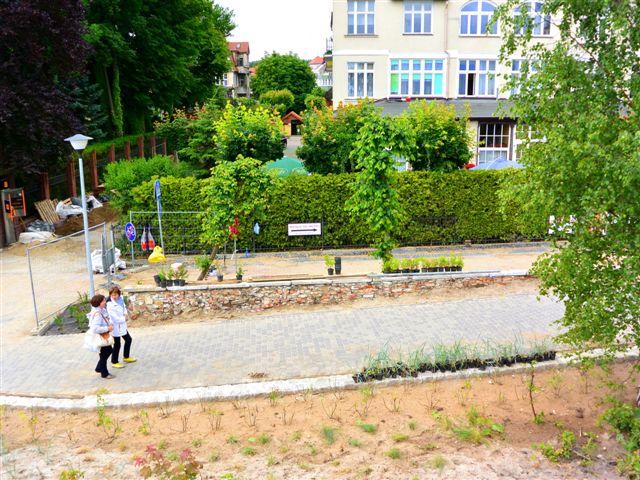 nowa ścieżka rowerowa przy ul. Chrobrego