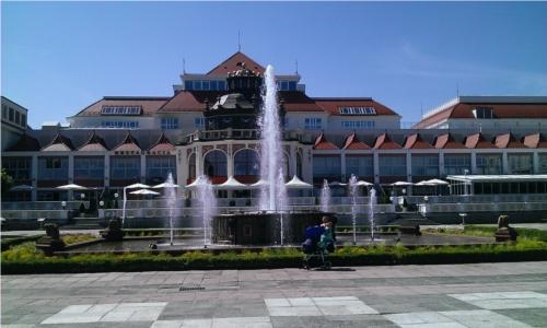 Fontanna na Placu Zdrojowym w Sopocie