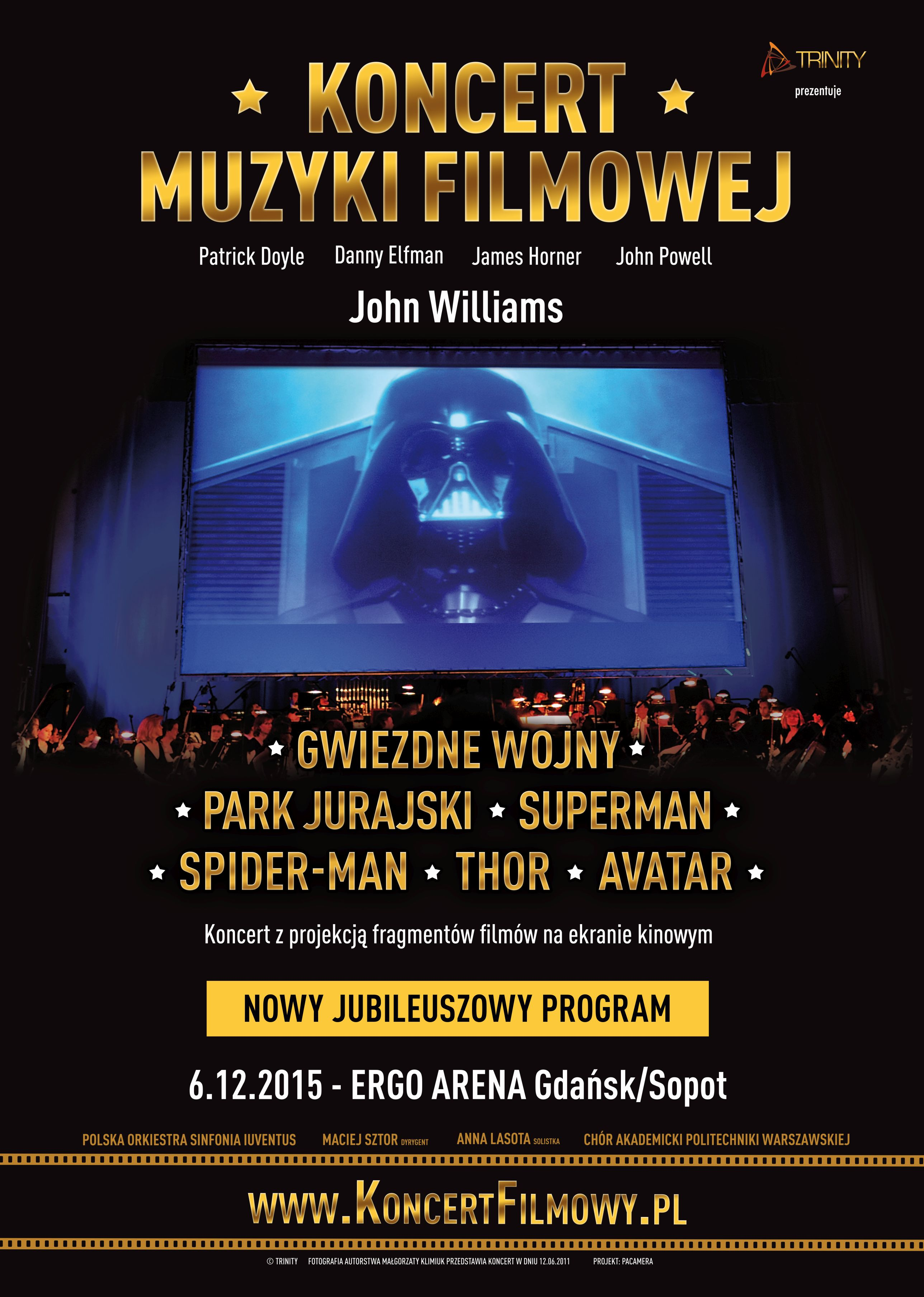 Koncert Muzyki Filmowej Sopot 2015
