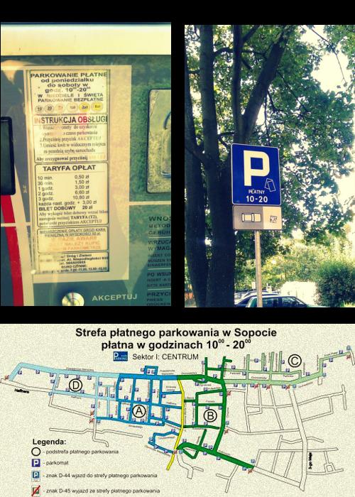 Płatne parkingi w Sopocie
