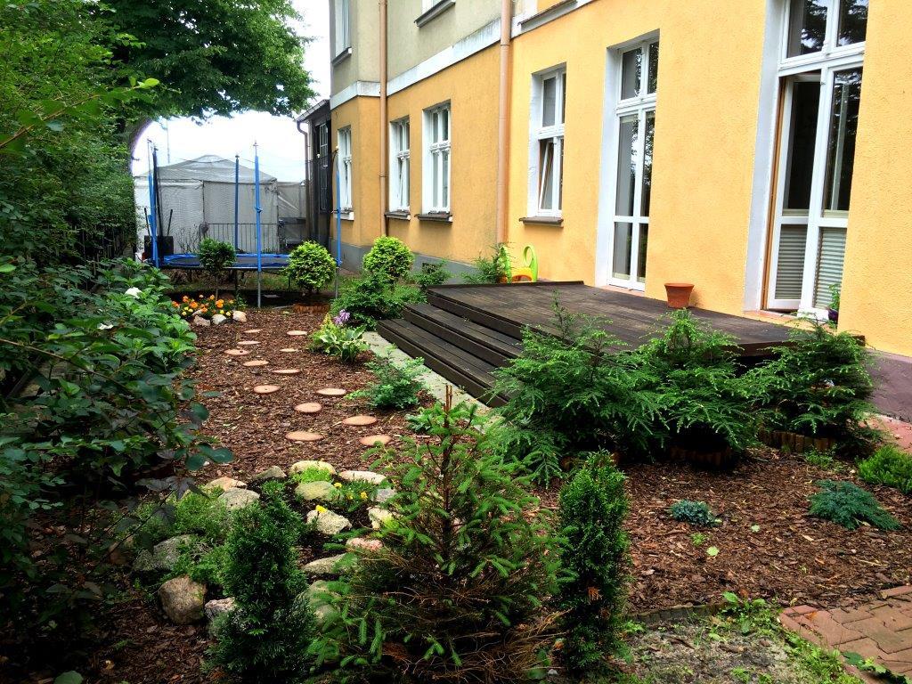 Taras i ogródek wyjście z apartamentu