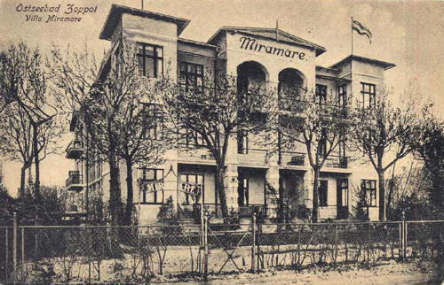 Pensjonat Miramare Sopot 1915 rok